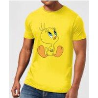 Looney Tunes Tweety Sitting Men's T-Shirt - Yellow - XL - Yellow
