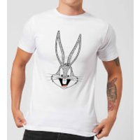 Looney Tunes Bugs Bunny Men's T-Shirt - White - L - White