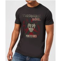 Looney Tunes Tasmanian Devil Monster Rock Men's T-Shirt - Black - XXL - Black