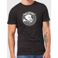 Looney Tunes That's All Folks Porky Pig Men's T-Shirt - Black - XXL - Black - Pig Gifts