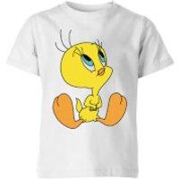 Looney Tunes Tweety Sitting Kids' T-Shirt - White - 3-4 Years - White