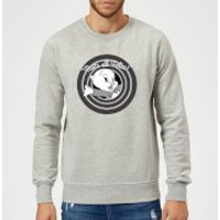 Looney Tunes That's All Folks Porky Pig Sweatshirt - Grey - XL - Grey
