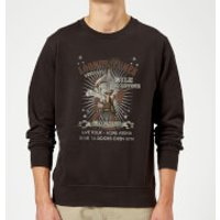 Looney Tunes Wile E Coyote Guitar Arena Tour Sweatshirt - Black - S - Black