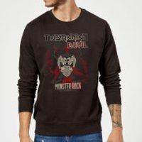 Looney Tunes Tasmanian Devil Monster Rock Sweatshirt - Black - XXL - Black - Rock Gifts