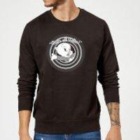 Looney Tunes That's All Folks Porky Pig Sweatshirt - Black - XXL - Black - Pig Gifts