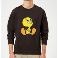 Looney Tunes Tweety Sitting Sweatshirt - Black - L - Black
