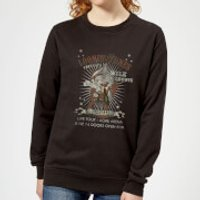 Looney Tunes Wile E Coyote Guitar Arena Tour Women's Sweatshirt - Black - XXL - Black - Guitar Gifts