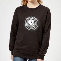 Looney Tunes That's All Folks Porky Pig Women's Sweatshirt - Black - XXL - Black - Pig Gifts