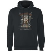 Looney Tunes Wile E Coyote Guitar Arena Tour Hoodie - Black - XXL - Black - Guitar Gifts