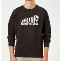 Born To Grill Sweatshirt - Black - XL - Black