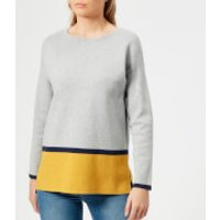 Joules Women's Uma Milano Jumper - Grey Ochre Black - UK 8 - Grey