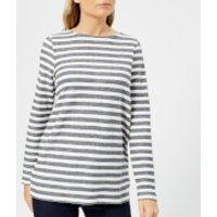 Joules Women's Caroline Sweatshirt with Zip Back - French Navy - UK 8 - Navy