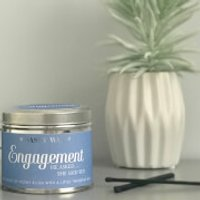 La de da! Living Sassy Wax Engagement - He Asked, She Said Yes! Candle 300g - Engagement Gifts