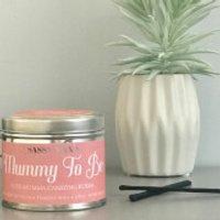 La de da! Living Sassy Wax Mummy to Be - Cute Mumma Carrying Bubba Candle 300g - Cute Gifts