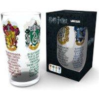 Harry Potter House Crests Large Glasses
