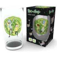 Rick and Morty Portal Large Glasses