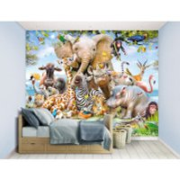 Walltastic Jungle Safari Wall Mural - Walltastic Gifts