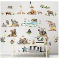 Walltastic Jungle Safari Room Decor Kit - Walltastic Gifts