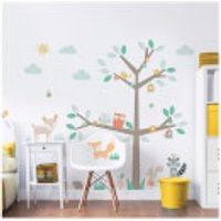 Walltastic Woodland Tree & Friends Large Character Sticker - Walltastic Gifts