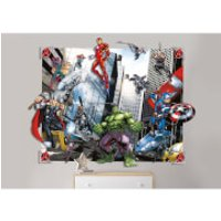 Walltastic Avengers 3D Pop-Out Wall Decoration - Walltastic Gifts