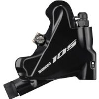 Shimano 105 BR-R7070 Hydraulic Brake Caliper Flat Mount Without Rotor or Adapters - Black