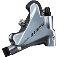 Shimano 105 BR-R7070 Hydraulic Brake Caliper Flat Mount Without Rotor or Adapters - Silver
