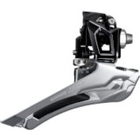 Shimano 105 FD-R7000 Front Derailleur - 28.6/31.8mm - Band On - Black