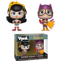 Wonder Woman & Batgirl Vynl. - Woman Gifts