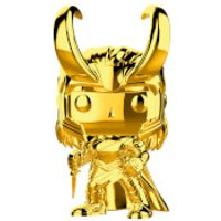 Marvel MS 10 Loki Gold Chrome Pop! Vinyl Figure - Chrome Gifts