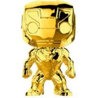 Marvel MS 10 Iron Man Gold Chrome Pop! Vinyl Figure - Man Gifts