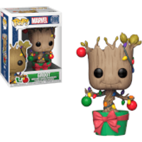 Marvel Holiday - Groot with Lights & Ornaments Pop! Vinyl Figure - Ornaments Gifts