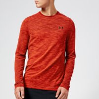 Under Armour Men's Vanish Seamless Long Sleeve Top - Radio Red - S - Red