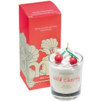 Bomb Cosmetics Wild Cherry Piped Candle - Candle Gifts