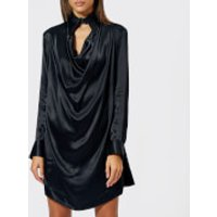Vivienne-Westwood-Anglomania-Womens-New-Tondo-Dress-Black-IT-40UK-8-Black