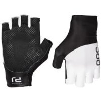 POC Raceday Aero Gloves - S - Black/White