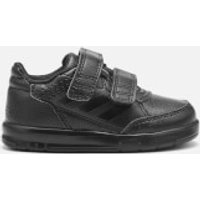 adidas AltaSport CF Infant Trainers - Core Black - UK 6 - Black