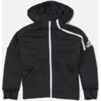 adidas Boys ZNE 3.0 Hoody - ZNE Heather/Black - 4-5 years - Black