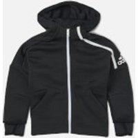 adidas Boys ZNE 3.0 Hoody - ZNE Heather/Black - 4-5 years - Black