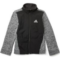 adidas Boys ID Warm Track Top - Black - 5-6 Years - Black