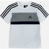 adidas Boys Sid Short Sleeve T-Shirt - White - 7-8 Years - White