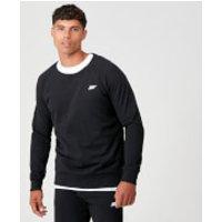 Tru-Fit Crew Neck Sweatshirt - Black - L - Black