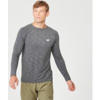 MP Performance Long Sleeve T-Shirt - Charcoal Marl - XS