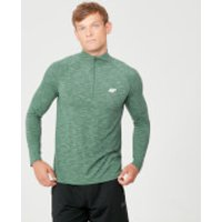 Myprotein Performance 1/4 Zip Top - Dark Green Marl - XL