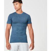Sculpt Seamless T-Shirt - XL - Petrol Blue
