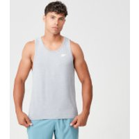 Performance Tank Top - Grey Marl - L - Silver Marl