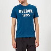 Reebok Men's 1985 Short Sleeve T-Shirt - Bunker Blue - XXL - Blue