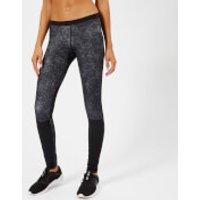 Reebok Womens CrossFit Comp Tights - Black - L - Black