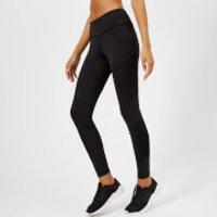 Reebok Women's Mesh Tights - Black - S - Black