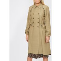 A.p.c. Jackie Trench Coat - Beige Fonce