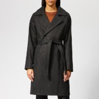 A.p.c. Bakerstreet Coat - Anthracite Chine